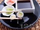 Рецепта Суши Хосо Маки с авокадо